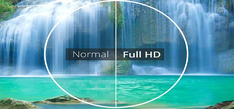 کیفیت تصویر در مقاله بهترین تلویزیون دنیا