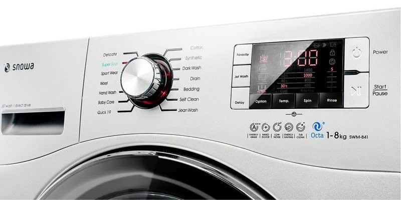 برد ماشین لباسشویی