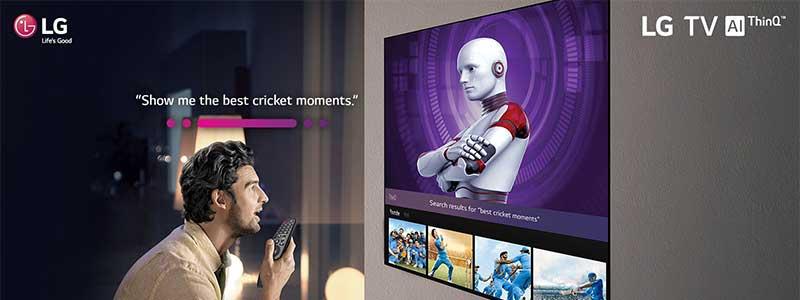 فرمان صوتی در تلویزیون ال جی