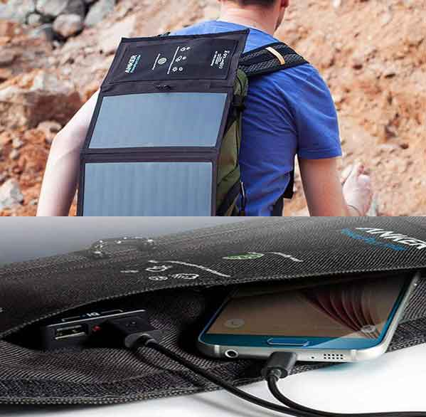 خرید شارژر همراه خورشیدی