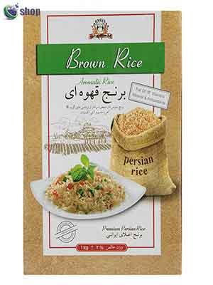 خرید برنج قهوه ای ایرانی-برند پنگوئن