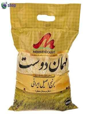 خرید اینترنتی برنج ایرانی-برند مهمان دوست