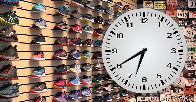زمان خرید کفش