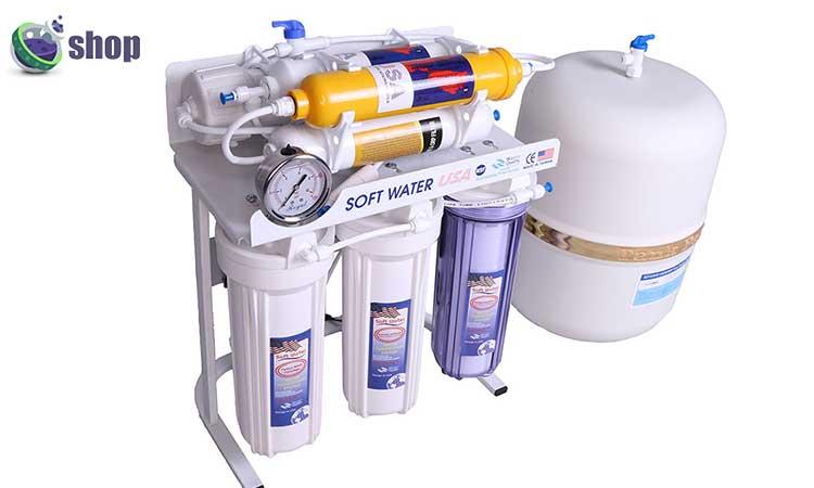 دستگاه تصفیه آب سافت واتر مدل RO7_ORP
