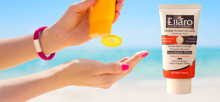 محصولات مراقبت از پوست(کرم ضد افتاب)